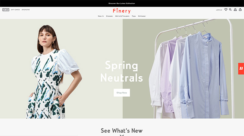 Finery Klarna